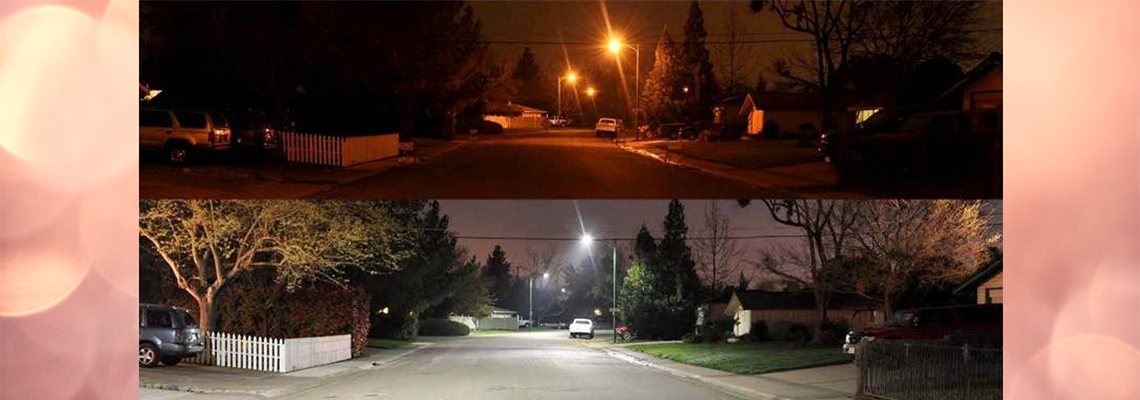 Streetlight Conversion: Bright savings through LED Lighting...